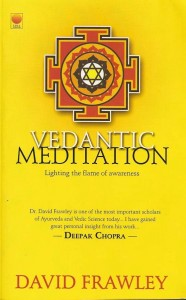 An image of the book Vedantic Meditation by David Frawley