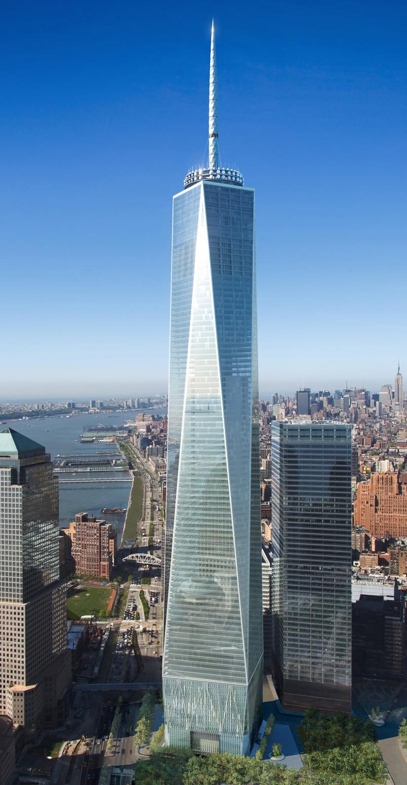 1 WTC Rendering